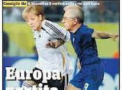 Europei, Germania Italia: Monti Merkel sfida rigori...nel presepe