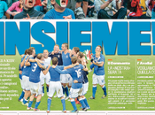 Italia Spagna sfida giornali