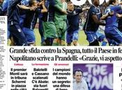 FOTO Ecco prime pagine Corriere dello Sport,Gazzetta Tuttosport