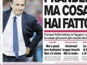 Ecco prime pagine della Gazzetta Corriere dello Sport Tuttosport POVERA ITALIA