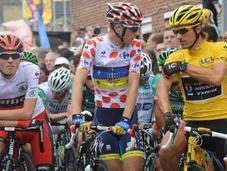 Tour France 2012, racconto della Tappa, Cancellara sempre testa