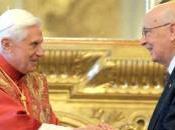 Giorgio Napolitano, l'amicizia Benedetto vera laicità