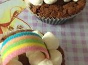 Somewhere over rainbow cupcake
