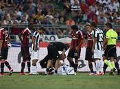 Infortunio Caceres, stop giorni niente Supercoppa contro Napoli
