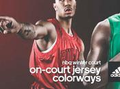 Nba, winter court: nuove jersey colorways