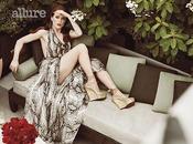 Julianne Moore super sexy Allure Novembre 2010