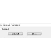 Disinstallare toolbar Internet Explorer