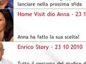 Anna Tatangelo Errore nell'app iPhone FACTOR
