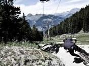 arrivo Pila tappa italiana dell'IXs European Downhill