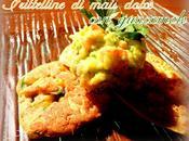 Frittelline mais dolce guacamole