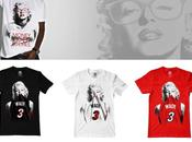 Marilyn Monroe, symbol t-shirt Heat Lakers
