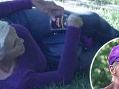 Brigitte Nielsen ubriaca parco