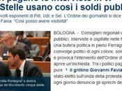 Anche 'grillini' usano soldi pubblici mentre Grillo passa 'modello Mussolini'…
