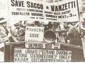 Sacco Vanzetti vennero giustiziati anni