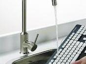 Tastiera lavabile acqua (video)