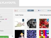 TotallyLayouts tante utili risorse Tumblr, Twitter, Facebook, Blogger Google+