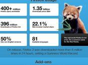 infografiche Firefox, popolare browser internet targato Mozilla.