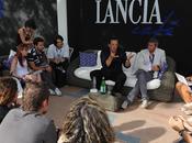 Gabriele Muccino Donatella Finocchiaro nelle nuove foto Lancia Café Venezia