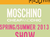 Moschino SS13 LIVE STREAMING
