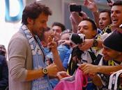 Piero arriva Sidney, tutti pazzi l'ex numero della Juventus