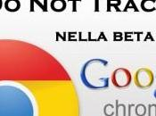 Track disponibile nella beta Google Chrome