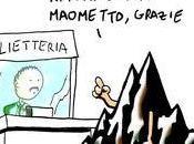 Maometto, caricature idiozia