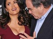 spettacolo sexy Salma Hayek Oliver Stone perde testa!
