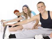 stretching. strumento rilassarsi sentirsi forma
