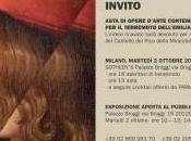 Sotheby's Milano asta arte contemporanea restauro Castello Pico della Mirandola