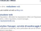 integrazione Bing Facebook!