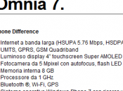 Windows Phone Samsung Omnia disponibile Italia