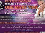 Raffaele Paganini presenta OneMoreTime, Talent sulla Danza interamente online