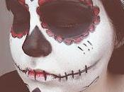 Nail's Diary Halloween tutorial: Dias muertos makeup