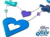 Collana Necklace COLOURS LOVE (mod. unoperuno ogget...