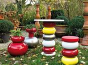Arredamento giardino autunnale arredi esterno Serralunga