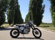 "Honda Dominator 1992 ""Scrambler"" Federico Baldacchino"