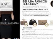 "Contest ""Giardini Babilonia"": borsa"