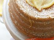 Lemon poppy seeds pound cake