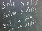 lingua segreta inventata classe Montessori