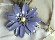 Anello regolabile perla Swarovski marghe ChezBobo Bijou...