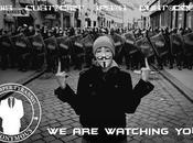 Anonymous colpisce Polizia. 3500 documenti riservati rete.