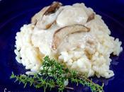 Risotto alla spuma porcini with foam