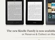 nuovi Kindle disponibili Waterstones: Classic, Paperwhite Fire