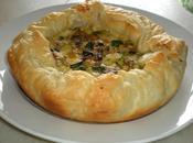 Torta salata verdure grigliate