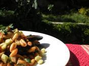 Cavatelli misto scoglio zucchine croccanti