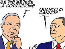 Corruzione: l'Italia come Ghana