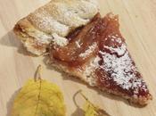 Crostata pere caramellate alla cannella.