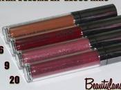 KIKO Extra Volume Gloss Swatch Review 6,9,