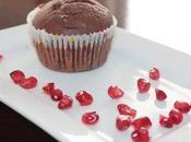 Muffin cacao gocce cioccolato succo melograno