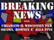 2012: WISCONSIN chiamato Obama. pilastro della strategia repubblicana caso sconfitta Ohio. ancora dire Romney praticamente perso